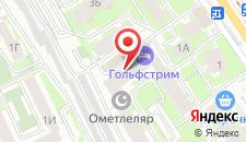 Отель Гольфстрим на карте