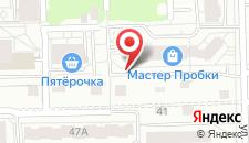 Мини-отель День и ночь на карте