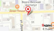 Гостиница Преображенская на карте