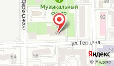 Гостиница Правительства Кировской области на карте
