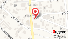 Апартаменты Niyazi 5 на карте