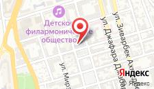 Апартаменты На Фуада Ибрагимбекова на карте