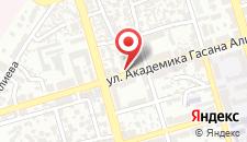 Отель New Baku на карте