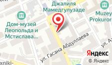 Апартаменты Садик Ахундовой на карте