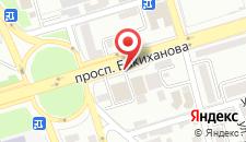 Апартаменты На Бакиханова на карте