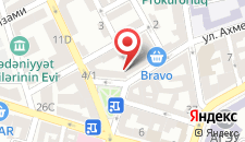 Апартаменты На Кавад, 1 на карте