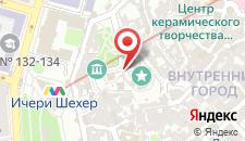 Апартаменты Icherisheher with Yard на карте