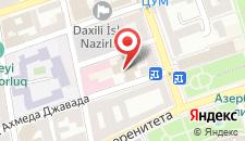 Апартаменты Городская центральная квартира на карте