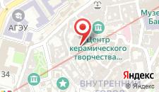Отель Горизонт на карте