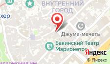 Отель Гыз Галасы на карте