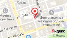 Апартаменты На площади Фонтанов на карте