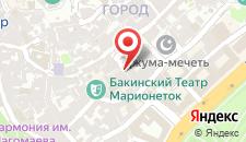 Отель Jireh Baku на карте