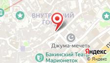 Гостевой дом Khazar in Old City на карте