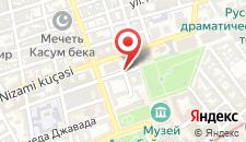 Отель Azcot Hotel на карте