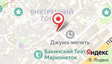 Апартаменты Мирза Мансур 35 на карте