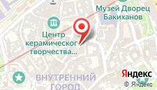 Отель Старый Баку на карте
