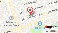 Отель Nemi на карте
