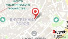 Апартаменты Старый город на карте