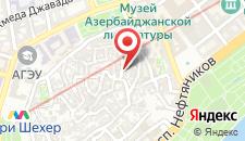 Бутик-Отель Old Street на карте