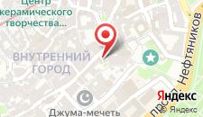 Апартаменты Старый город 3 рядом с кафе Бану на карте