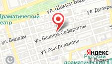 Вилла Площадь Фонтанов на карте