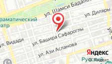 Апартаменты Deluxe in the Heart of Baku на карте
