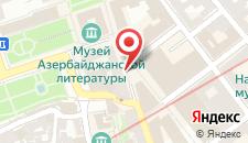 Апартаменты Дуплекс на площади Фонтанов и Старого города на карте