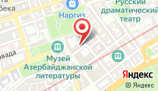 Апартаменты На Алиярбекова 9 на карте