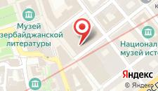Апартаменты Jireh Downtown Baku на карте