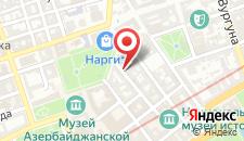 Апартаменты В сердце Баку на карте
