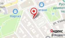 Апартаменты Малакан на карте