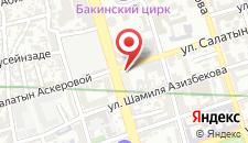 Апартаменты На улице Самеда Вургуна на карте