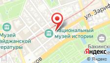 Апартаменты В центре Баку на карте