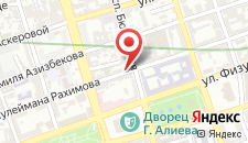 Отель Дипломат Баку на карте
