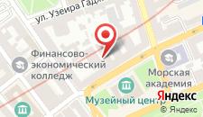 Апартаменты Сахил 3 на улице Зарифы Алиевой, 27 на карте
