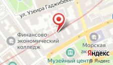 Апартаменты Сахил 2 на улице Зарифы Алиевой, 27 на карте