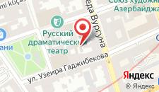 Апартаменты На Самеда Вургуна 3 на карте