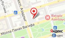 Хостел Friend's на карте