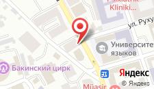 Апартаменты На Рашида Бейбутова 58 на карте