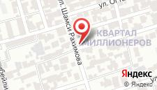 Отель Safran на карте