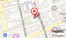 Апартаменты 28 MAJ Street NEFT AKADEMIA на карте