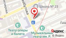 Апартаменты Театр Рашида Бейбутова на карте