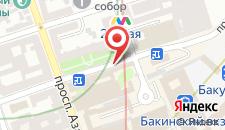 Апартаменты На Сулеймана Рагимова 201 на карте