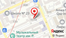 Апартаменты Низами 109 на карте