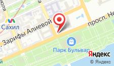 Отель Park Inn by Radisson Azerbaijan на карте