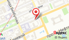 Апартаменты Бульвар на улице Узеира Гаджибекова, 25 на карте
