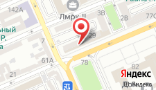 Отель Бульвар Инн на карте