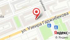 Апартаменты На Гаджибекова 27 на карте