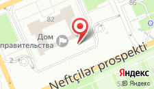 Апартаменты На улице Узеира Гаджибейли на карте