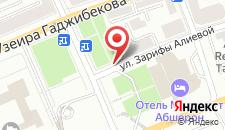 Апартаменты Комфорт на ул.Зарифы Алиевой 59 на карте